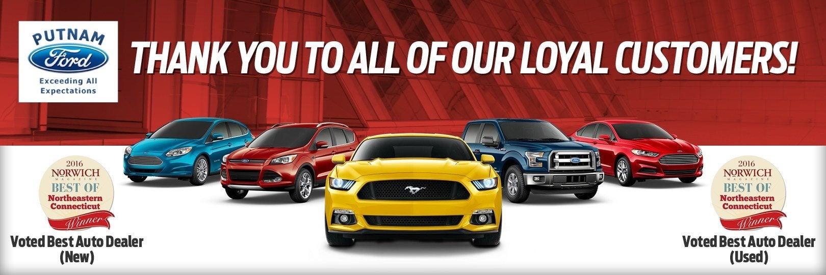 Ford Dealers In Ct >> Ford Dealer In Putnam Ct Used Cars Putnam Putnam Ford Inc
